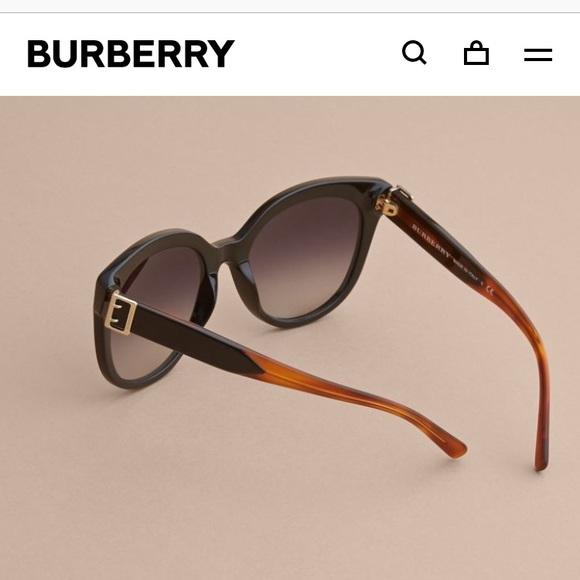 8855b1c1fd Burberry Accessories - Burberry Cat-Eye Buckle Sunglasses